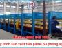 Quy trình sản xuất tấm panel pu phòngsạch