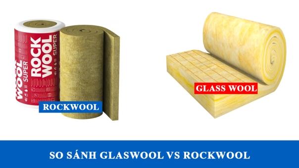 Glasswool và rockwool
